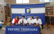 Future diamond Rebels make it official (photo gallery)