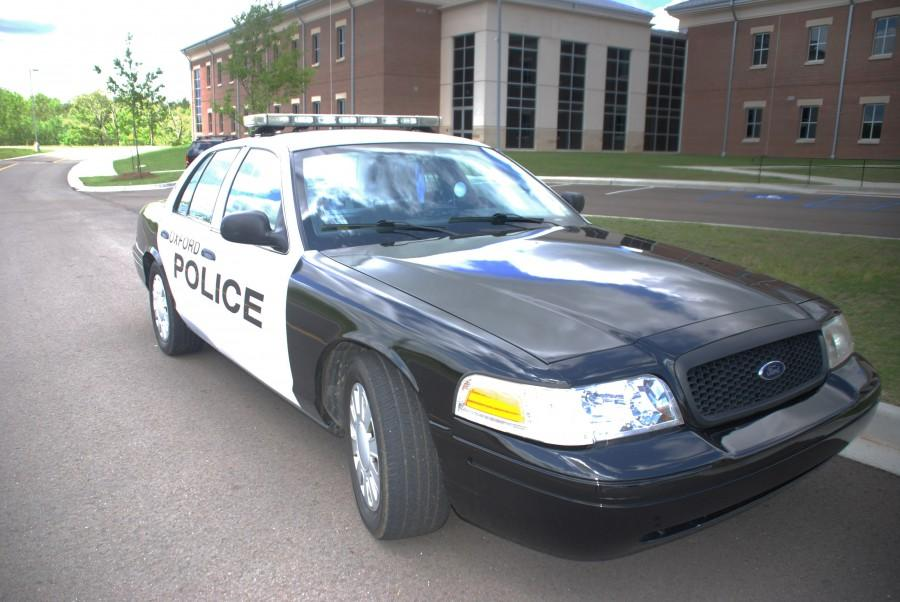 Extra Police Force Present on Monday April 20.