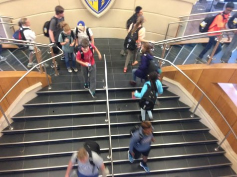 Disruptive students run the halls
