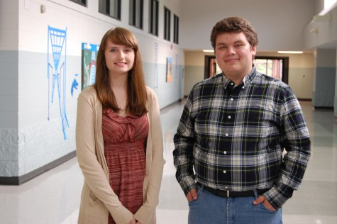 OXFORD SCHOOL DISTRICT Pictured (left to right) are Kayla Owens and Joshua Caraway, Oxford High School seniors who are among seniors nationwide to be named Semifinalists in the 2016 National Merit Scholarship Program.