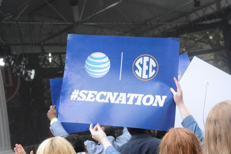 SEC Nation arrives at Ole Miss (photo gallery)