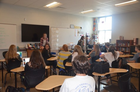 Sophomore starts creative writing club