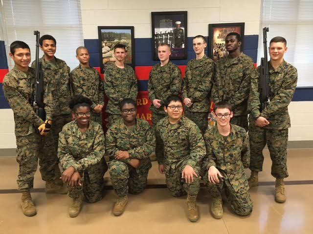 JROTC wins air rifle division championship