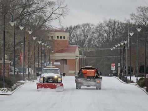 Students' snow days