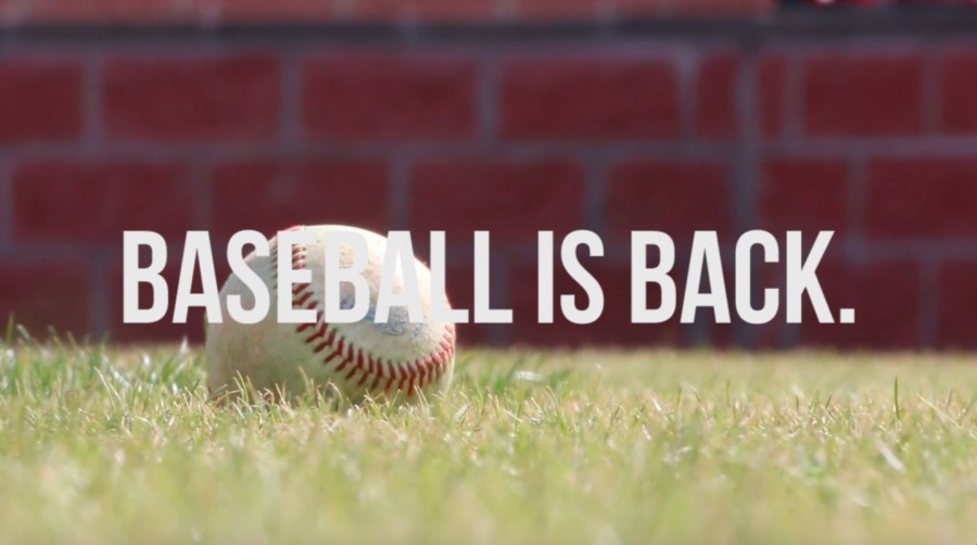 Sports+Productions+Releases+%22Baseball+is+Back%22+Video