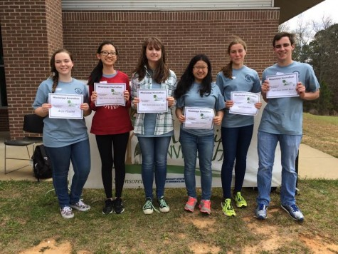 Envirothon Team places first at regionals