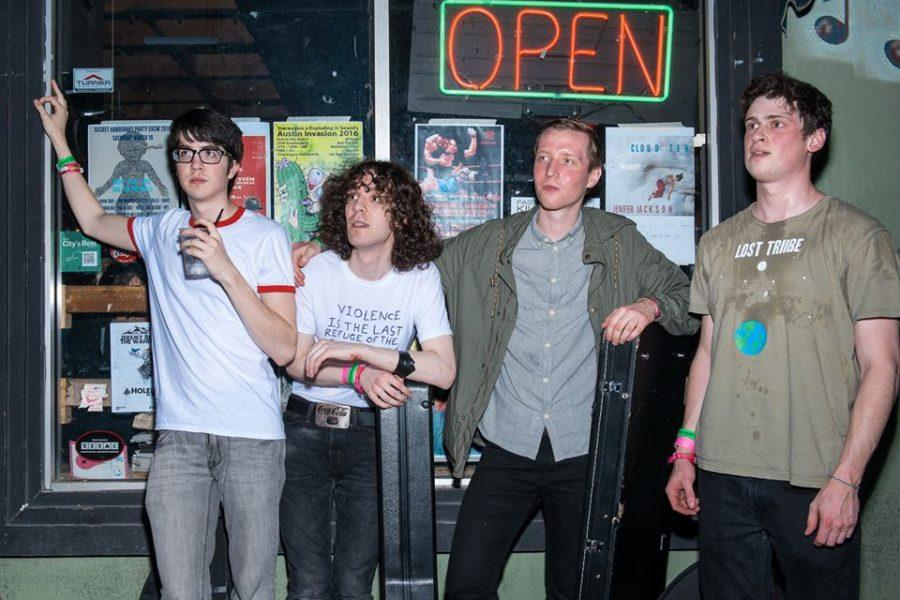 Car Seat Headrest poses at SXSW, a music and art festival in Austin, TX, in 2016.  Students can see CSH at Proud Larry's on Sept. 6th.