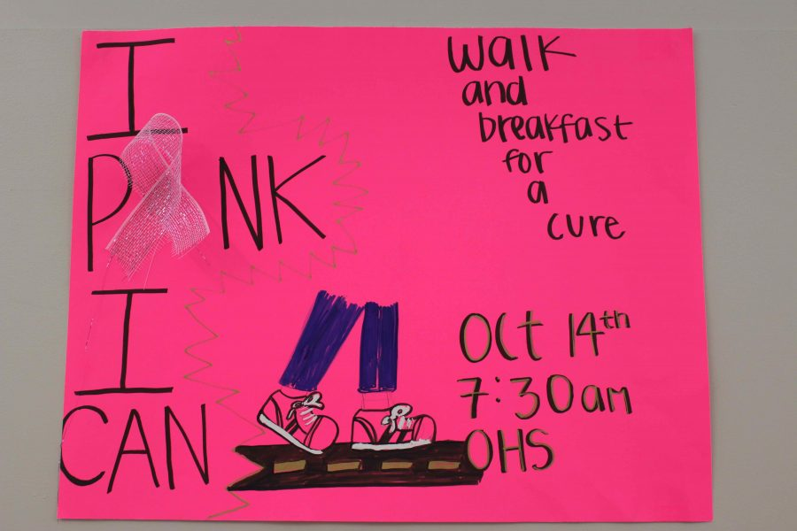 OHS Shows Support for Breast Cancer Awareness