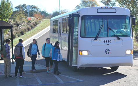 OUT bus provides students alternative way to, from school