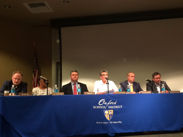 Community members express concerns at Oct. 18 school board meeting