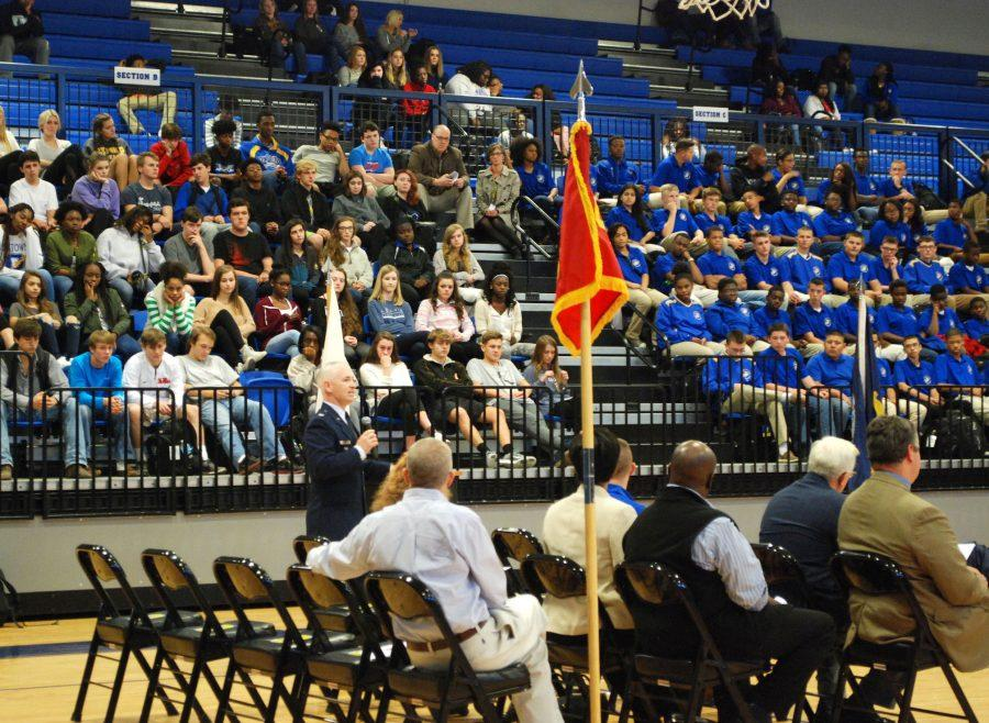 OHS+holds+annual+Veterans+Day+Memorial+Ceremony