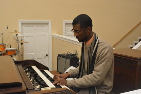 Johnson contributes to church as youth minister, musician