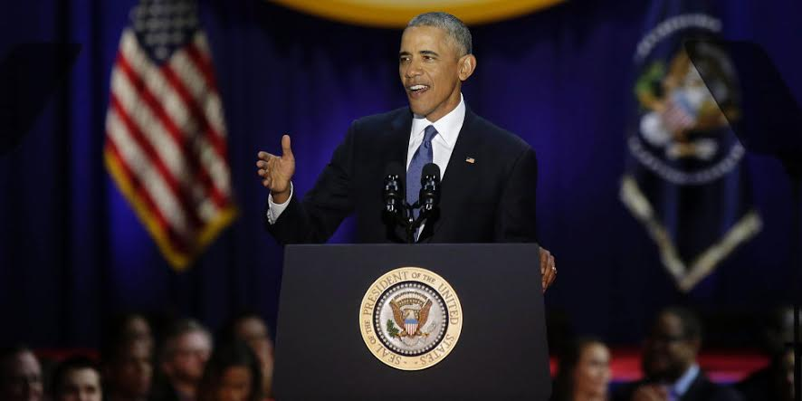Obama says what US needs to hear during Farewell Address