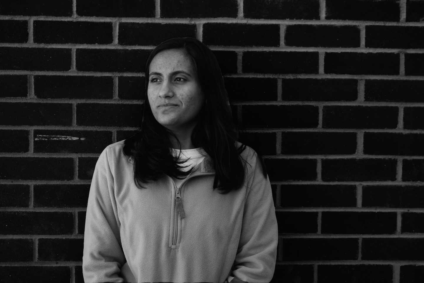 Senior Fatima Laraib, a native Pakistani, is from one of the countries targeted in