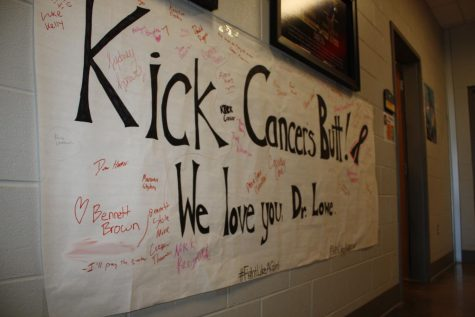 Lowe battles breast cancer, receives student support