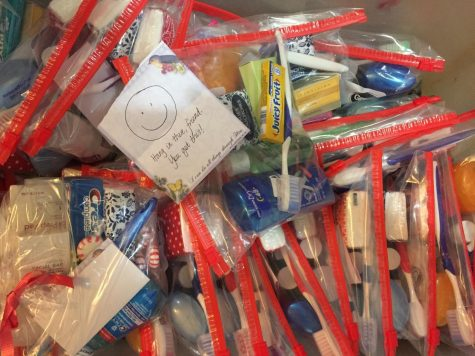 Stewart brings supplies to Hurricane Harvey  victims