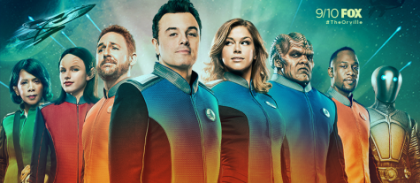 """New sci-fi series """"The Orville"""" successfully uses adult humor"""