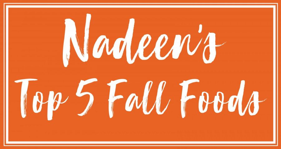 Nadeen's Top 5 Fall Foods