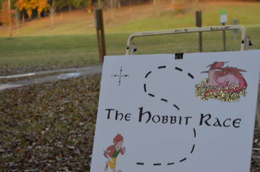 Kids of all ages were invited Nov. 6 to visit the Hobbit Walk at Avent Park with games and other stations such as the Hobbit Race, an obstacle course at the event.