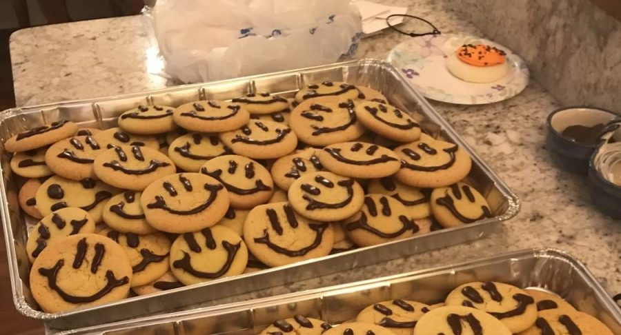 The positivity club made cookies for the Homecoming Carnival. The club's goal is to make Oxford High School a place that students look forward to going to.