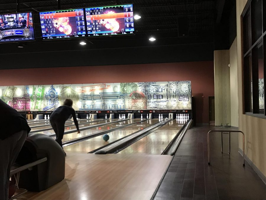 The students practice at Premier Lanes from 4 to 5:30. Each student gets the chance to play three games each practice.