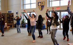 Moving Metaphors brings students together for poetry, dancing