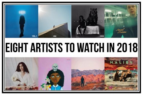 Eight artists to watch in 2018