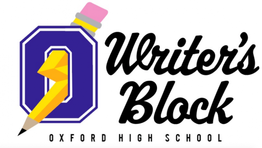 The Writer's Block is a school organization designed with the goal of providing students with aid in their writing. The logo, designed by a student, was decided upon by a school-wide vote.
