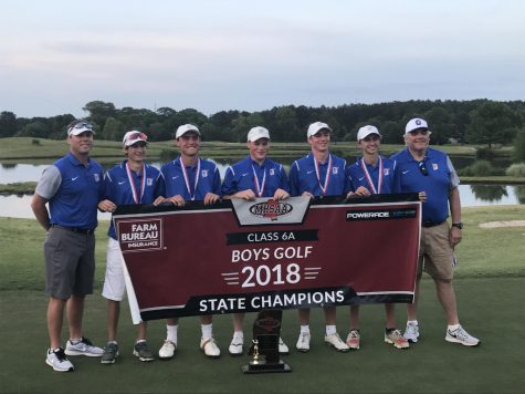 Oxford golf uses record breaking second round to win state championship